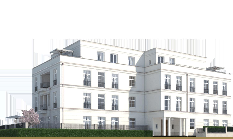 Sophienterrassen Sophienpalais Alstervillen Frankonia Eurobau