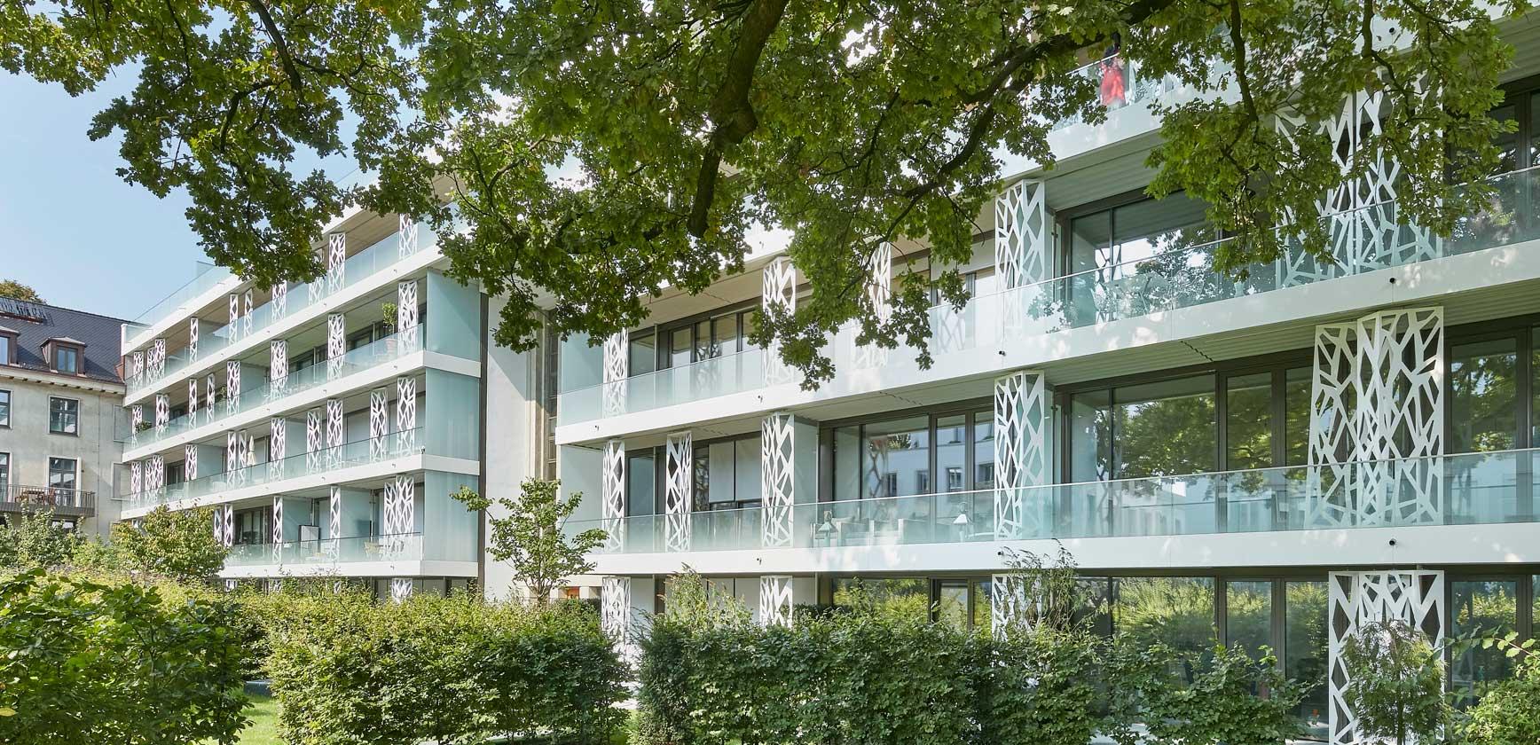 Sophienterrassen Penthouses Sophienpalais Alstervillen Frankonia Eurobau